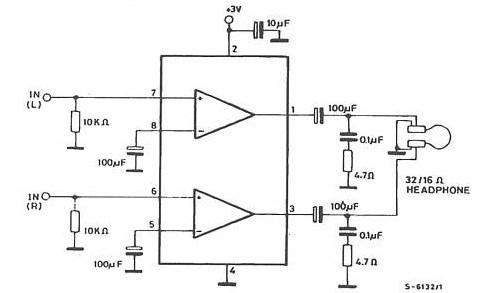 Schema semplice mixer microfonico