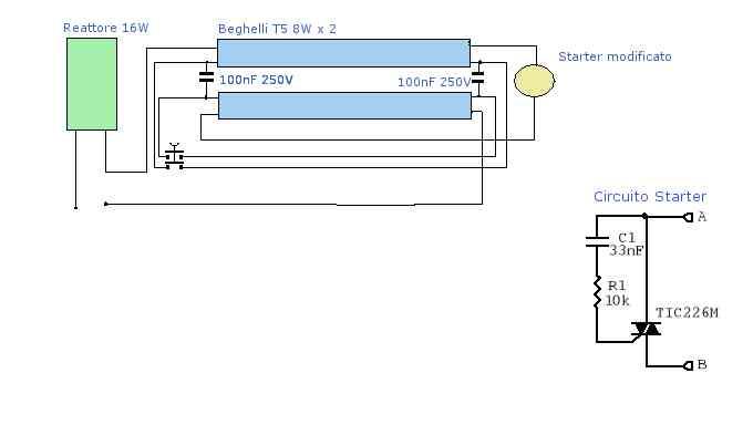 Schema Elettrico Per Tubi A Led : Schema elettrico per tubo al neon uv exposure box with